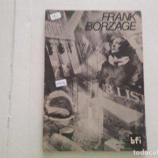 Cine: FRANK BORZAYE . Lote 152400738