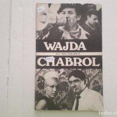 Cine: WAJDA CHABROL. Lote 152402722