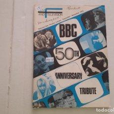 Cine: BBC 50TH ANIVERSARY TRIBUTE . Lote 152402950