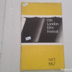 Cine: 11TH LONDON FILM FESTIVAL. Lote 152403078