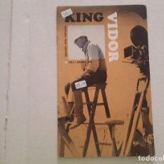 Cine: KING VIDOR . Lote 152404998