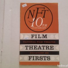 Cine: 10TH ANIVERSARY FILM THEATRE FIRSTS. Lote 152405286