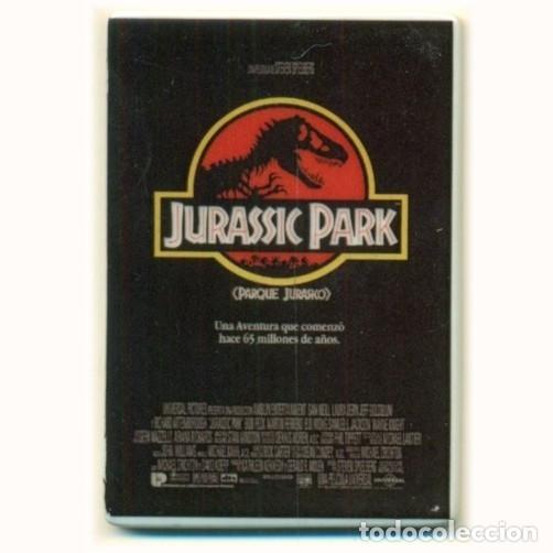 IMAN PORCELANA NEVERA - JURASSIC PARK (Cine - Reproducciones de carteles, folletos...)