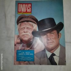 Cine: ONDAS . Nº 422 . - 1970. Lote 152577522