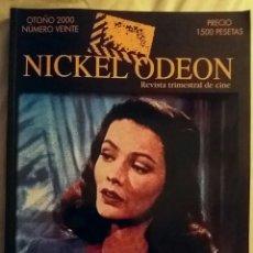 Cine: NICKEL ODEON N°20. FILM NOIR. OTOÑO 2000.. Lote 152690888