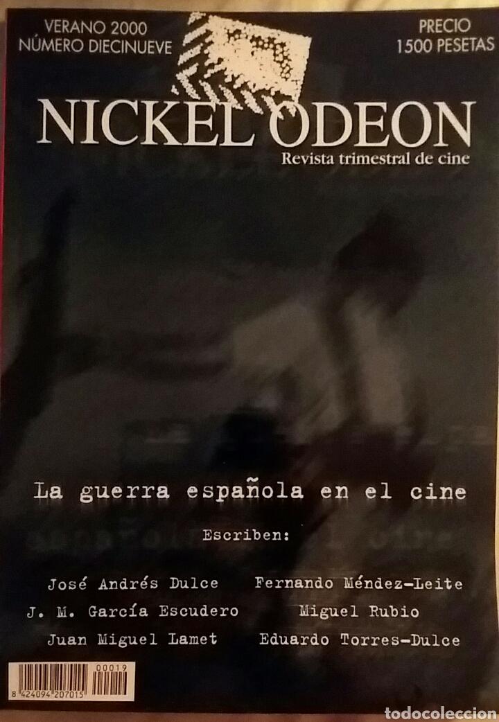 NICKEL ODEÓN 19. LA GUERRA ESPAÑOLA EN EL CINE. VERANO 2000. (Cine - Revistas - Nickel Odeon)