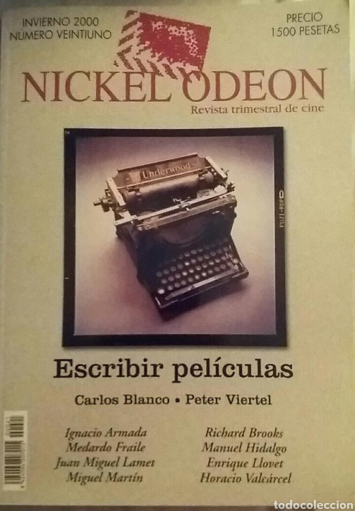 NICKEL ODEON N° 21. ESCRIBIR PELÍCULAS. VVAA. INVIERNO 2000. (Cine - Revistas - Nickel Odeon)