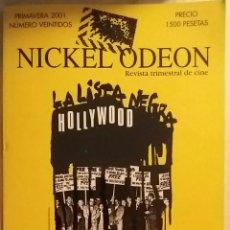 Cine: NICKEL ODEON N°22. MCCARTHY Y LA INQUISICIÓN EN EL CINE. PRIMAVERA 2001.. Lote 152692868