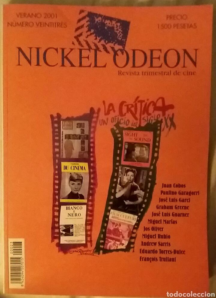 NICKEL ODEON 23. LA CRÍTICA, UN OFICIO DEL SIGLO XX. VERANO 2001. (Cine - Revistas - Nickel Odeon)