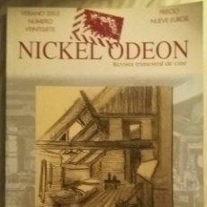 Cine: NICKEL ODEON N°27. LA DIRECCIÓN ARTÍSTICA. VERANO 2002.. Lote 152693880