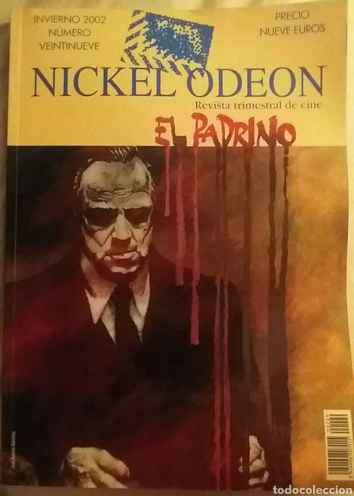 NICKEL ODEON N°29. EL PADRINO. INVIERNO 2002. (Cine - Revistas - Nickel Odeon)