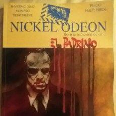 Cine: NICKEL ODEON N°29. EL PADRINO. INVIERNO 2002.. Lote 152694217