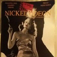 Cine: NICKEL ODEON N°30. CINE Y HUMO. PRIMAVERA 2003.. Lote 152694330