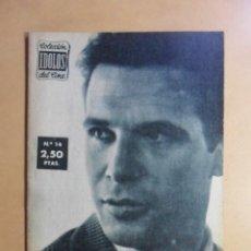Cine: Nº 14 - COLECCION IDOLOS DEL CINE - FRANCISCO RABAL - 1958. Lote 152740258