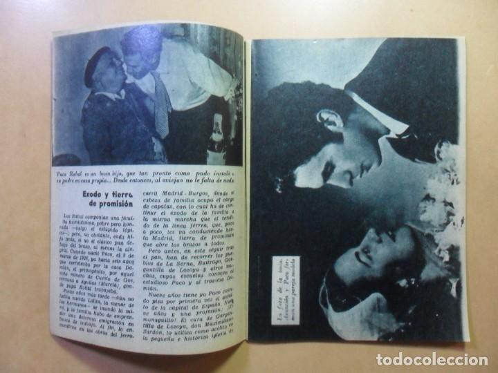 Cine: Nº 14 - COLECCION IDOLOS DEL CINE - FRANCISCO RABAL - 1958 - Foto 3 - 152740258