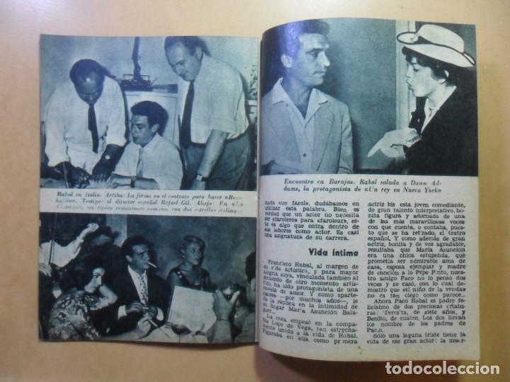 Cine: Nº 14 - COLECCION IDOLOS DEL CINE - FRANCISCO RABAL - 1958 - Foto 6 - 152740258