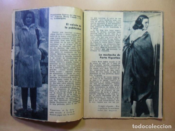 Cine: Nº 15 - COLECCION IDOLOS DEL CINE - LUCIA BOSE - 1958 - Foto 3 - 152740454