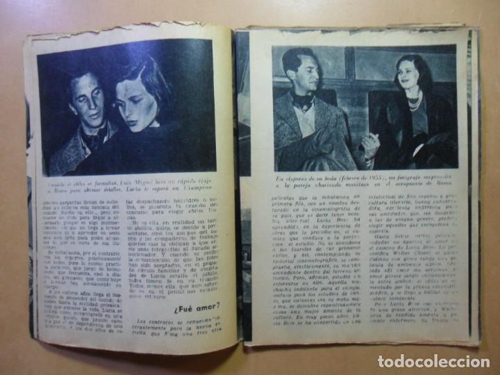 Cine: Nº 15 - COLECCION IDOLOS DEL CINE - LUCIA BOSE - 1958 - Foto 4 - 152740454