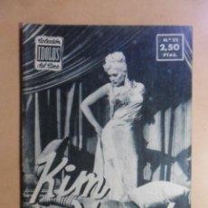 Cine: Nº 22 - COLECCION IDOLOS DEL CINE - KIM NOVAK - 1958. Lote 152740706