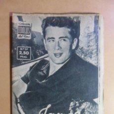 Cine: Nº 27 - COLECCION IDOLOS DEL CINE - JAMES DEAN - 1958. Lote 152741114
