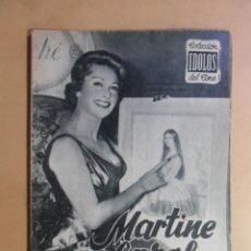 Cine: Nº 33 - COLECCION IDOLOS DEL CINE - MARTINE CAROL - 1959. Lote 152741322