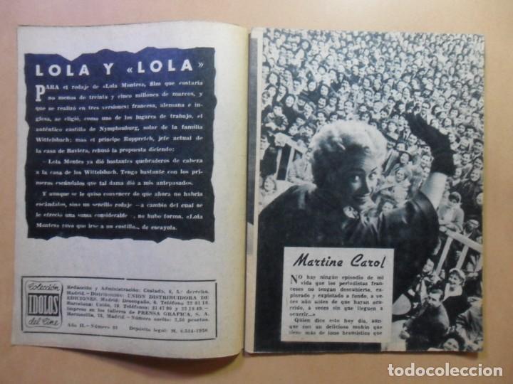 Cine: Nº 33 - COLECCION IDOLOS DEL CINE - MARTINE CAROL - 1959 - Foto 2 - 152741322