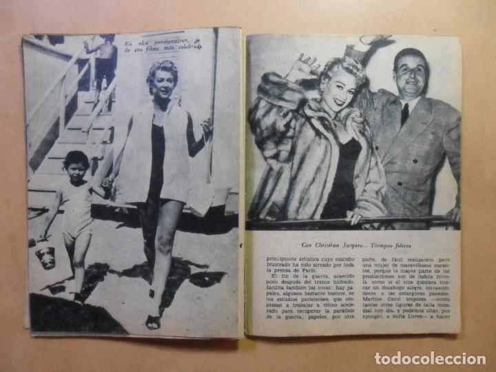 Cine: Nº 33 - COLECCION IDOLOS DEL CINE - MARTINE CAROL - 1959 - Foto 6 - 152741322