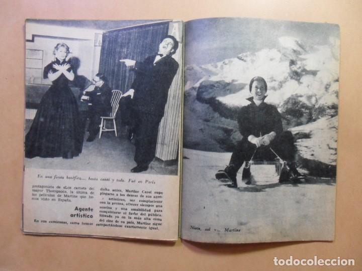 Cine: Nº 33 - COLECCION IDOLOS DEL CINE - MARTINE CAROL - 1959 - Foto 7 - 152741322
