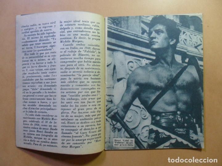 Cine: Nº 107 - COLECCION IDOLOS DEL CINE - HENRI VIDAL - 1960 - Foto 3 - 152742570