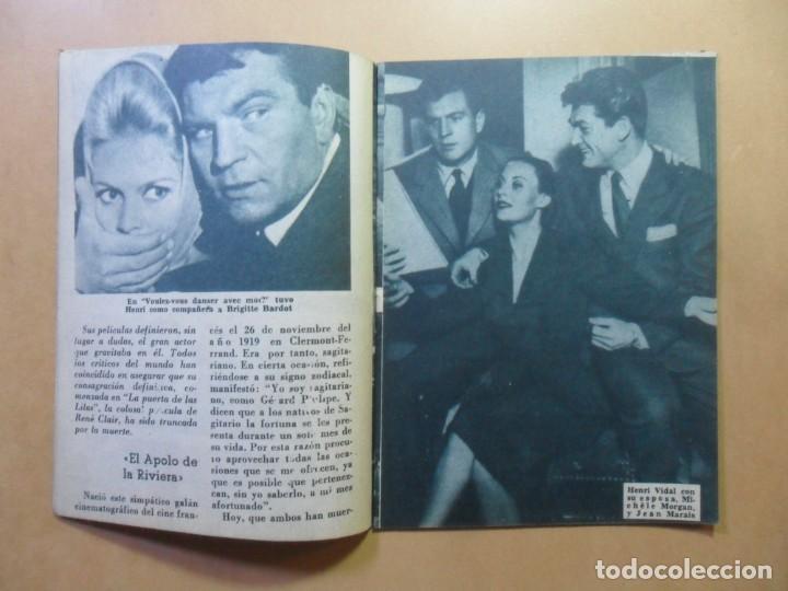 Cine: Nº 107 - COLECCION IDOLOS DEL CINE - HENRI VIDAL - 1960 - Foto 4 - 152742570