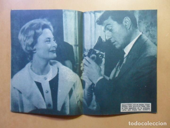 Cine: Nº 107 - COLECCION IDOLOS DEL CINE - HENRI VIDAL - 1960 - Foto 6 - 152742570