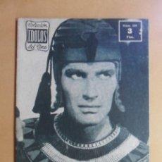 Cine: Nº 109 - COLECCION IDOLOS DEL CINE - CHARLTON HESTON - 1960. Lote 152757402