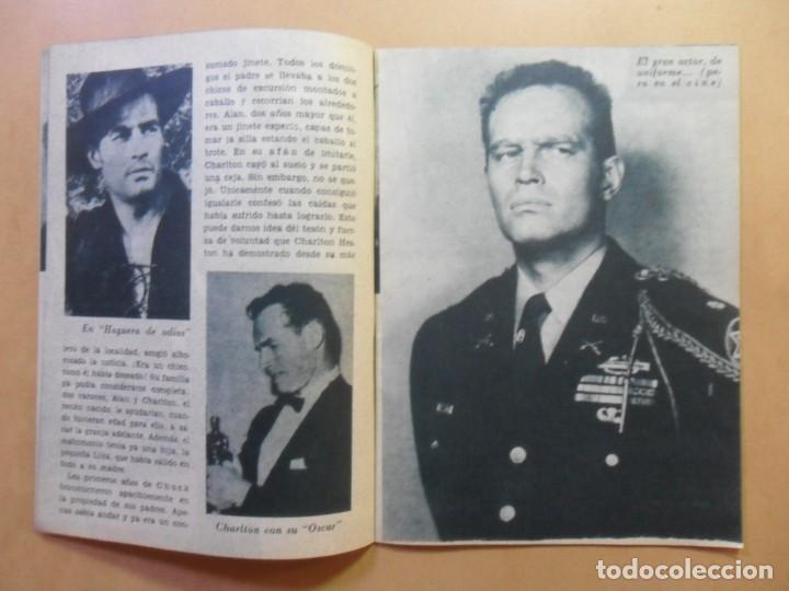 Cine: Nº 109 - COLECCION IDOLOS DEL CINE - CHARLTON HESTON - 1960 - Foto 4 - 152757402