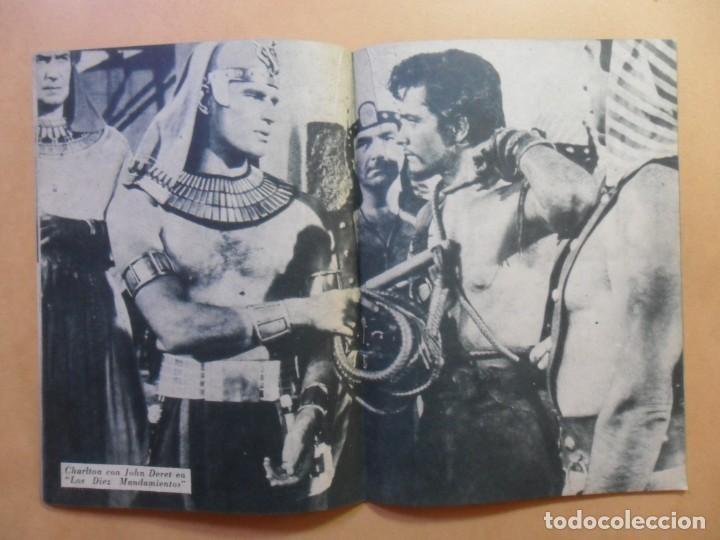 Cine: Nº 109 - COLECCION IDOLOS DEL CINE - CHARLTON HESTON - 1960 - Foto 5 - 152757402