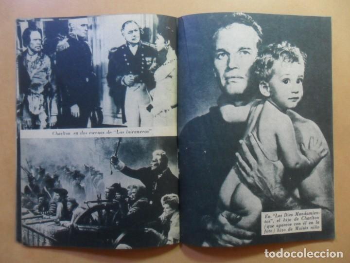 Cine: Nº 109 - COLECCION IDOLOS DEL CINE - CHARLTON HESTON - 1960 - Foto 6 - 152757402