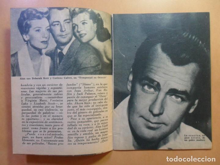 Cine: Nº 112 - COLECCION IDOLOS DEL CINE - ALAN LADD - 1960 - Foto 3 - 152757954