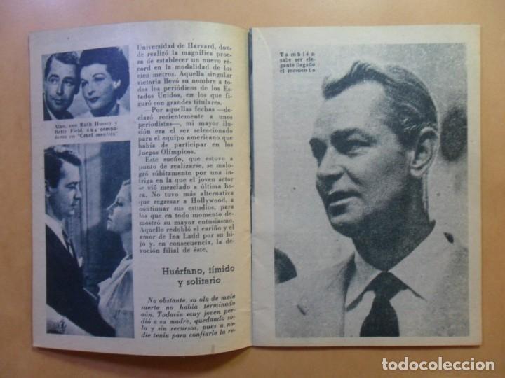 Cine: Nº 112 - COLECCION IDOLOS DEL CINE - ALAN LADD - 1960 - Foto 4 - 152757954