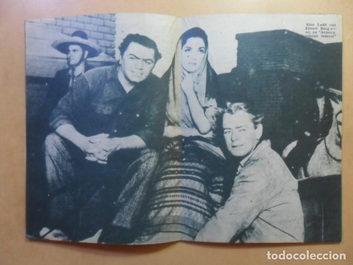 Cine: Nº 112 - COLECCION IDOLOS DEL CINE - ALAN LADD - 1960 - Foto 5 - 152757954