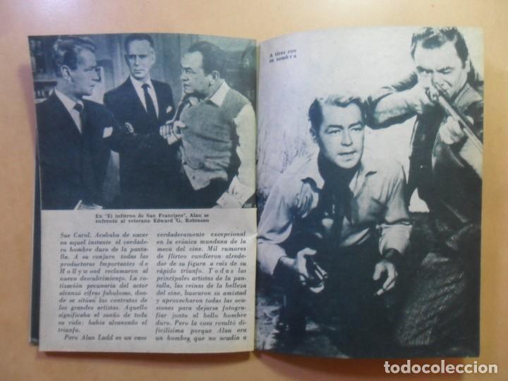 Cine: Nº 112 - COLECCION IDOLOS DEL CINE - ALAN LADD - 1960 - Foto 6 - 152757954
