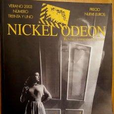 Cine: NICKEL ODEON Nº 31. LUZ DE CINE. VERANO 2003.. Lote 152826262