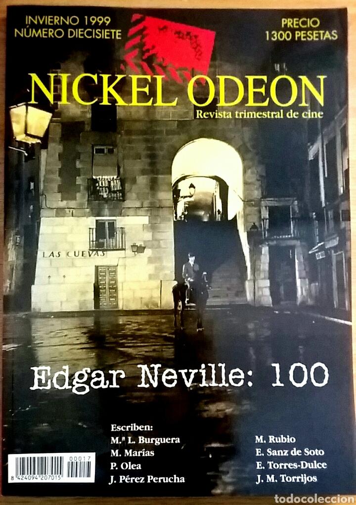 NICKEL ODEON Nº 17. EDGAR NEVILLE: 100. INVIERNO 1999. (Cine - Revistas - Nickel Odeon)