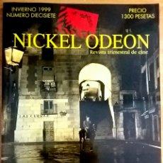 Cine: NICKEL ODEON Nº 17. EDGAR NEVILLE: 100. INVIERNO 1999.. Lote 152955145