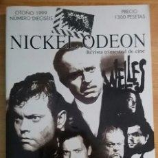 Cine: NICKEL ODEON Nº 16. WELLES. OTOÑO 1999.. Lote 152955561