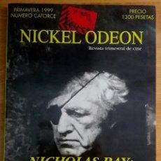 Cine: NICKEL ODEON Nº 14. NICHOLAS RAY: EL AMIGO AMERICANO. PRIMAVERA 1999.. Lote 152956205
