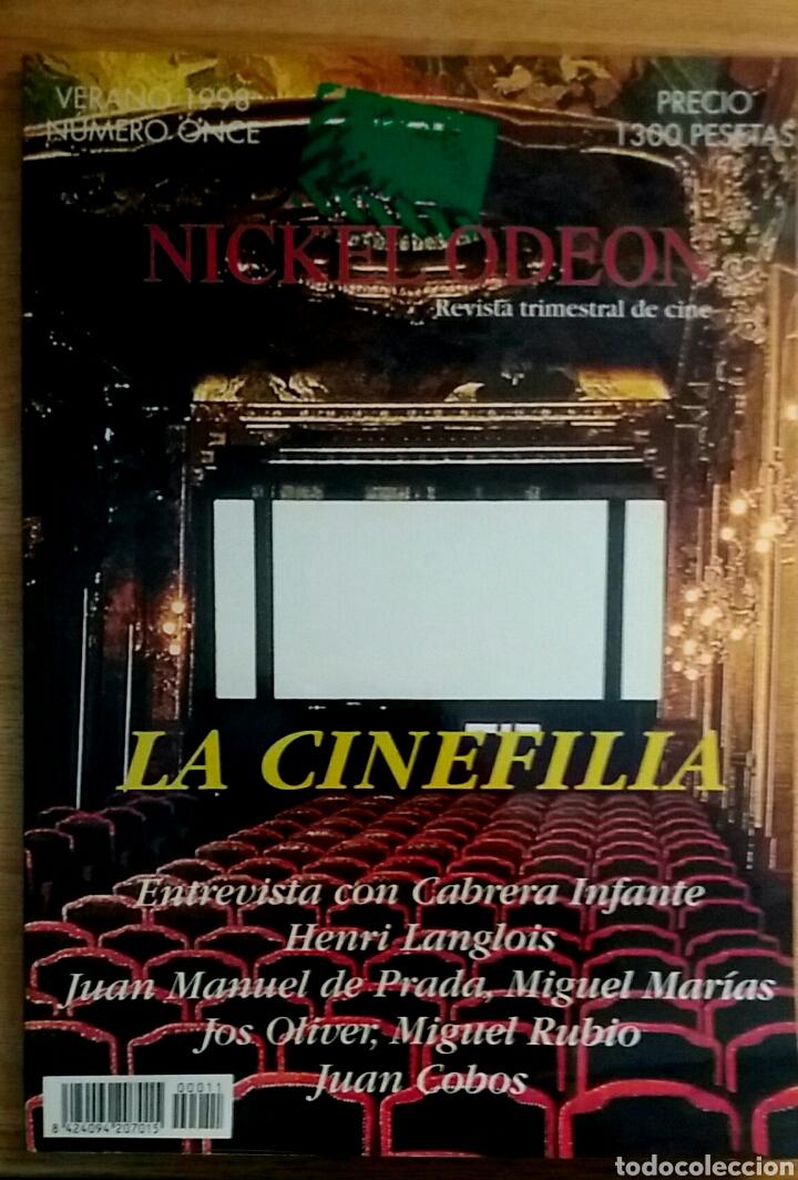 NICKEL ODEON Nº 11. LA CINEFILIA. VERANO 1998. (Cine - Revistas - Nickel Odeon)
