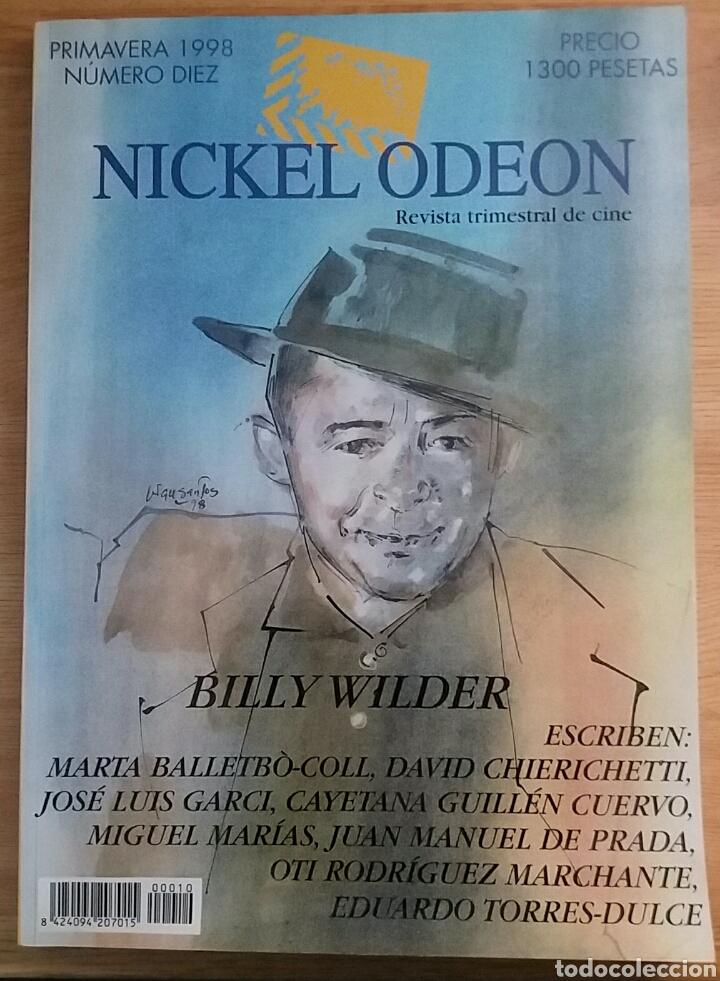 NICKEL ODEON Nº 10. BILLY WILDER. PRIMAVERA 1998 (Cine - Revistas - Nickel Odeon)