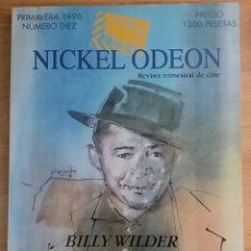 Cine: NICKEL ODEON Nº 10. BILLY WILDER. PRIMAVERA 1998. Lote 152957634
