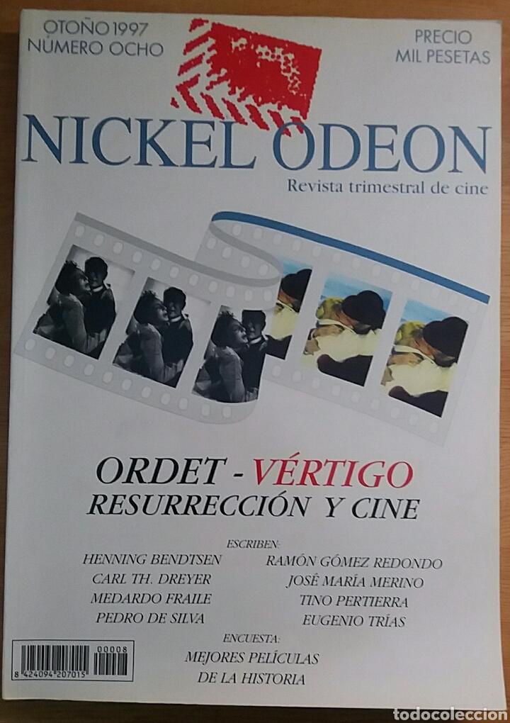NICKEL ODEON Nº 8. ORDET - VÉRTIGO. RESURRECCIÓN Y CINE. OTOÑO 1997. (Cine - Revistas - Nickel Odeon)