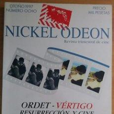 Cine: NICKEL ODEON Nº 8. ORDET - VÉRTIGO. RESURRECCIÓN Y CINE. OTOÑO 1997.. Lote 152958402