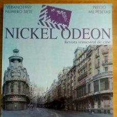 Cine: NICKEL ODEON Nº 7. MADRID Y EL CINE. VERANO 1997.. Lote 152958948